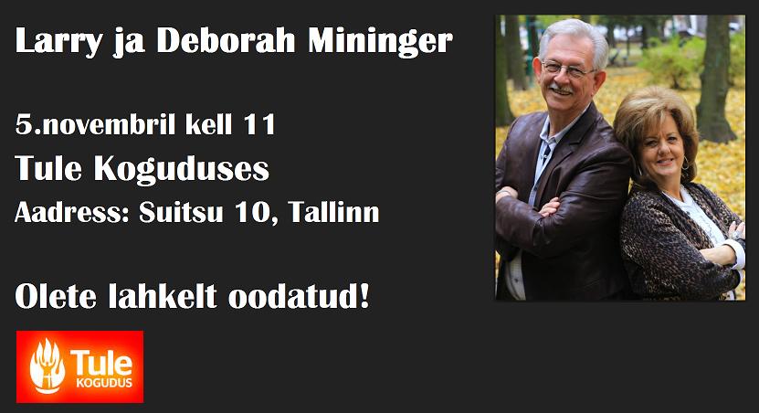Larry ja Deborah Mininger