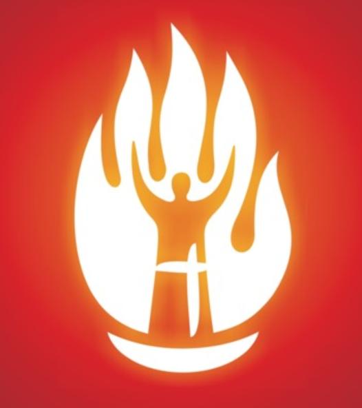 Tule koguduse helendav logo